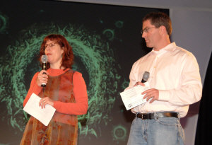 Honora Foah and Michael Karlin, Mythic Journeys '06, photo by Beth Gwinn