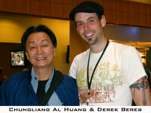 Chungliang Al Huang and Derek Beres at Mythic Journeys 06